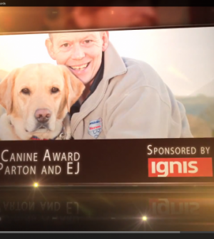 Soldiering On, SOTLT, Soldiering On Awards, 8 Voices, Park Plaza, 18 April 2015, 18 Apr 15, Cobseo, Lord Astor, Tal Lambert, You Tube, Alan Parton and EJ, Canine Award, Pets at Home