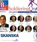 Soldiering On, SOTLT, Soldiering On Awards, 8 Voices, Park Plaza, 18 April 2015, 18 Apr 15, Cobseo, Lord Astor, Tal Lambert, Skanska, MOD Corsham, 8 Voices exhibition, 13 Jan 15