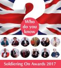 Soldiering On Awards 2017, nominations