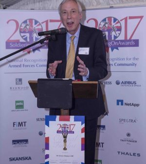 Earl Howe PC, Debra Alcock-Tyler, Vicki Michelle, House of Lords, 9 Feb 2017, Soldiering On Awards, Soldiering On,
