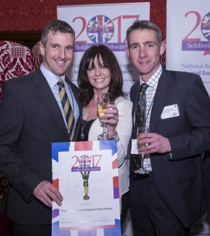 Debra Alcock-Tyler, Vicki Michelle, House of Lords, 9 Feb 2017, Sponsors, Airbus, Sunday Express, Spectra, Breitling, Skanska, Pets at Home, Redwood, FiMT, telent, Soldiering On Awards, Soldiering On, Army Training Regiment Winchester Working Together Award, Lt Col Nick MacKenzie, Col Andy Cox MBE