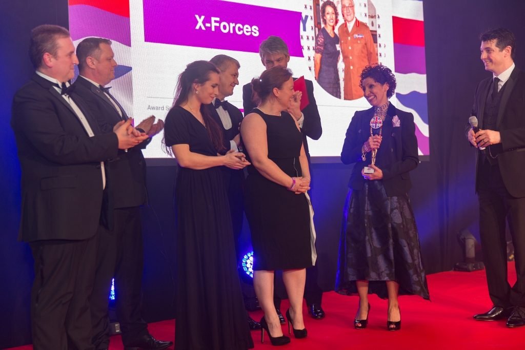 Business Enterprise Award, X-Forces, telent