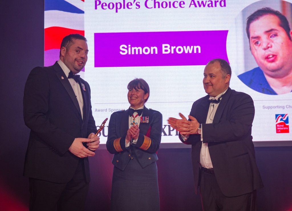 People's Choice Award, Simon Brown, The Sunday Express