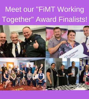 Soldiering On Awards finalist