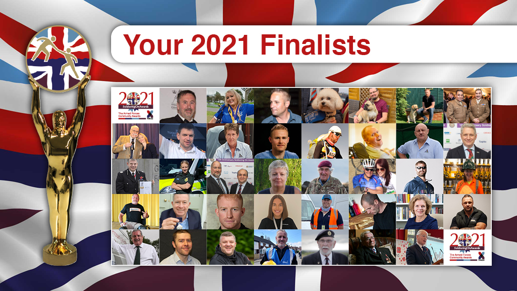 Soldiering On Awards 2021 Finalists