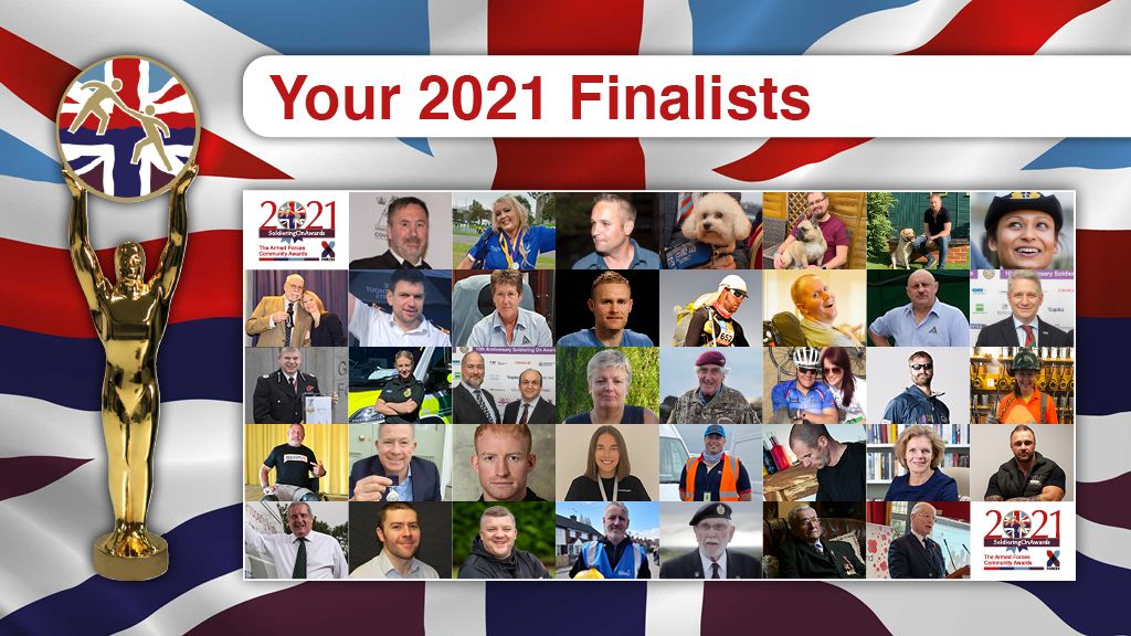 finalists soldiering on awards 2021