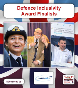 Defence Inclusivity finalists soldiering on awards 2021