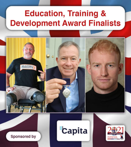 Soldiering On Awards - Education, Training and Development Award Finalists 2021
