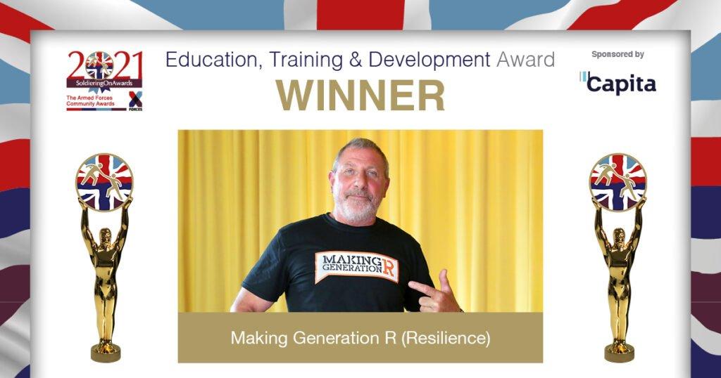 SOA2021 Education Training and Development Award