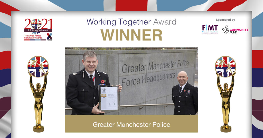 SOA2021 - FiMT Working Together Award - Greater Manchester Police