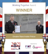 working together award 2021 soa greater manchester police